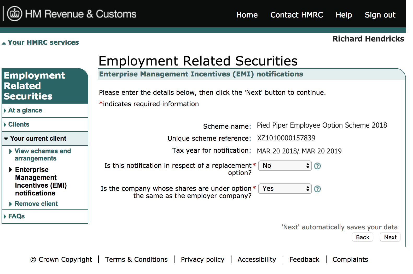 How to File An EMI Notification to the HMRC