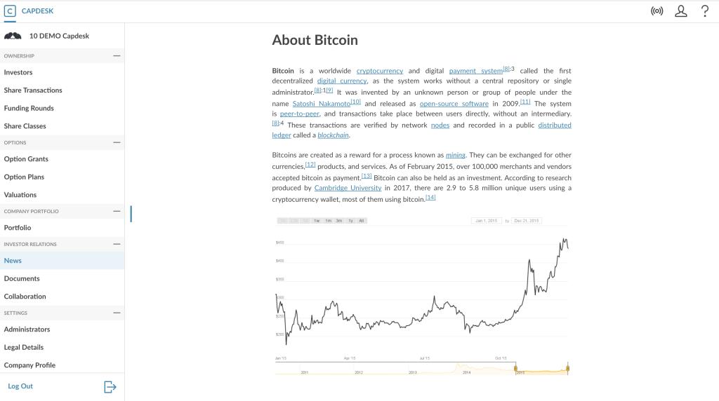 Capdesk rich news