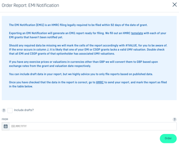 How to Generate an EMI Notification Form on Capdesk