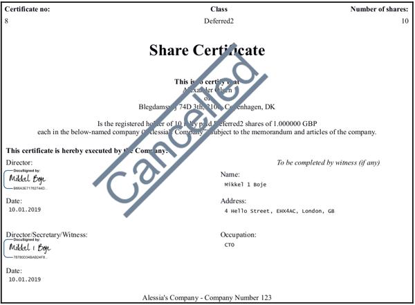 share issuance platform